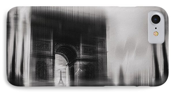 French iPhone 8 Case - Triumphal Arch by Oussama Mazouz