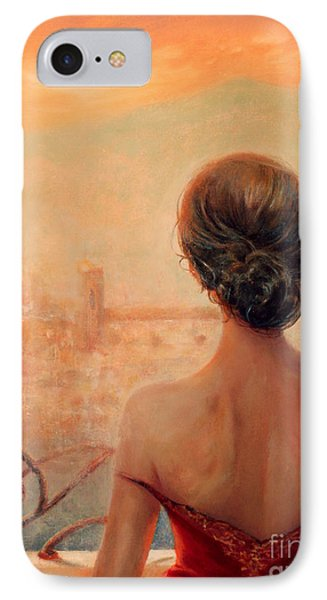 Visions Of Florence IPhone Case