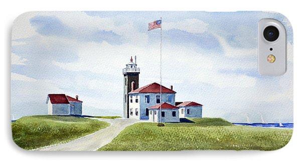 Watch Hill Ri Lighthouse IPhone Case