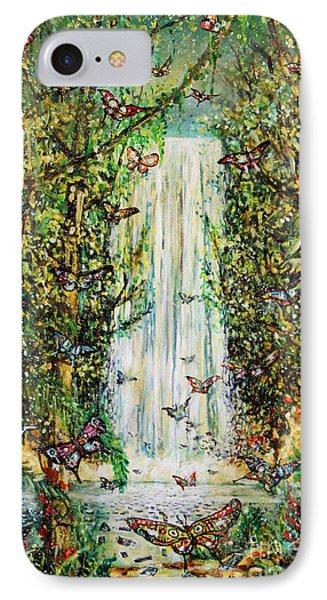 Waterfall Of Prosperity II IPhone Case
