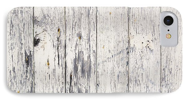 Weathered Paint On Wood IPhone Case