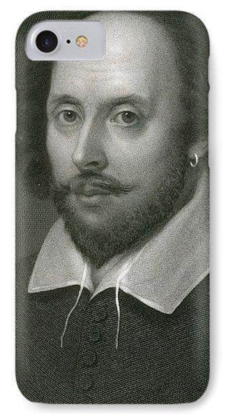 William Shakespeare IPhone Case