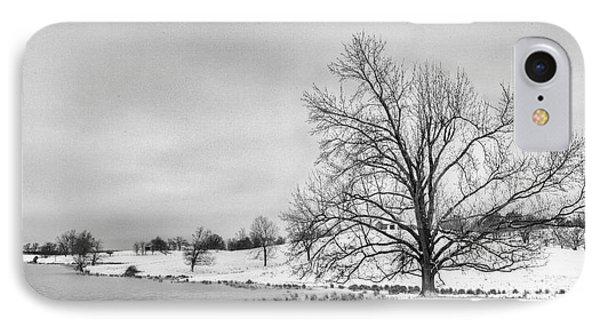 Winter In Kentucky IPhone Case