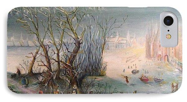 Winter Scene IPhone Case
