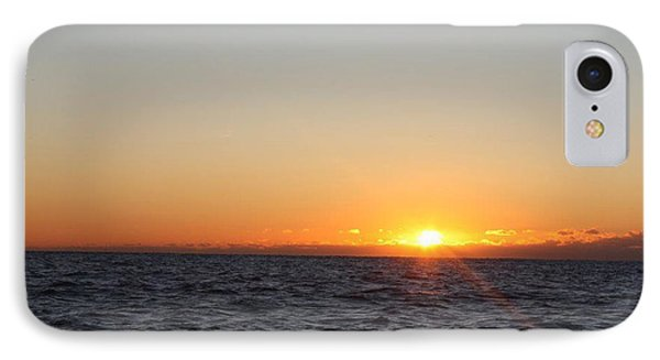 Winter Sunrise Over The Ocean IPhone Case