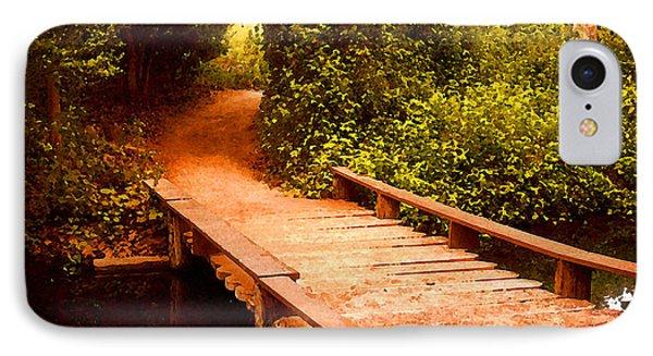 Wooden Footbridge IPhone Case