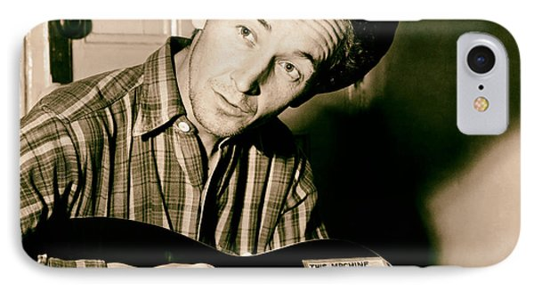 Woody Guthrie 1943 IPhone Case