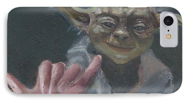 Y Is For Yoda IPhone Case