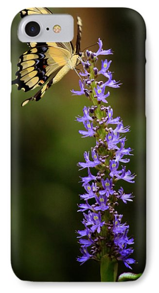 Yellow Swallowtail IPhone Case