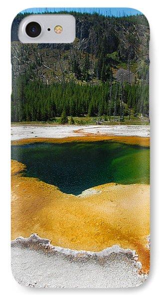 Yellowstone Emerald Pool IPhone Case