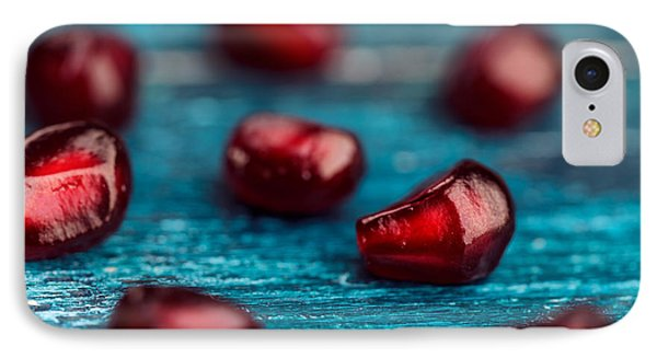 Fruit iPhone 8 Case - Pomegranate by Nailia Schwarz