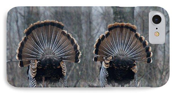 Jake Eastern Wild Turkeys IPhone Case