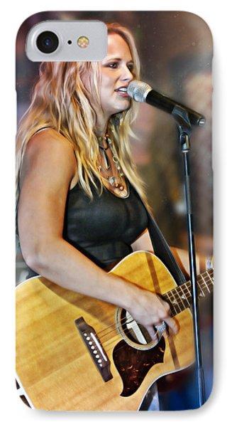 Miranda Lambert IPhone Case