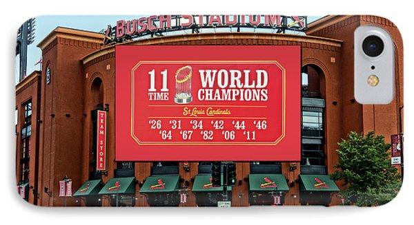 11 Time World Champion St Louis Cardnials Dsc01294 IPhone Case