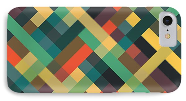 Shapes iPhone 8 Case - Geometric by Mike Taylor