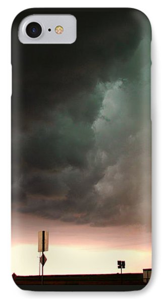 Nebraskasc iPhone 8 Case - Nebraska Panhandle Supercells by NebraskaSC