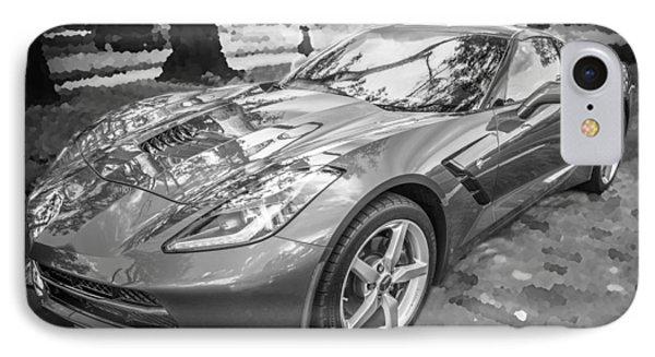 2014 Chevrolet Corvette C7 Bw   IPhone Case