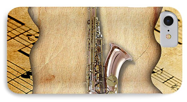 Saxophone Collection IPhone Case