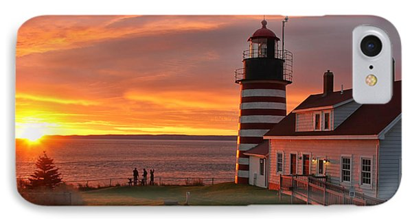 West Quoddy Head Lighthouse 3745 IPhone Case