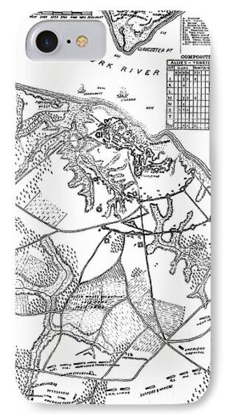1700s 1770s 1781 Map Of Hampton Roads IPhone Case