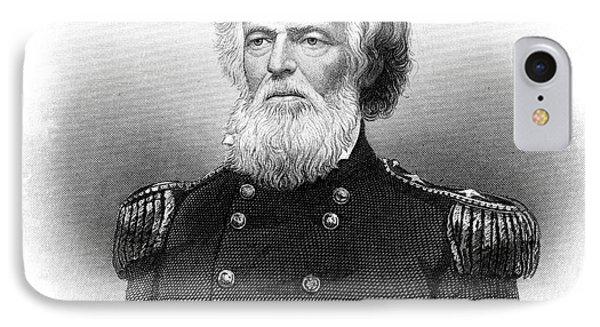 1800s 1860s Portrait Joseph K Mansfield IPhone Case