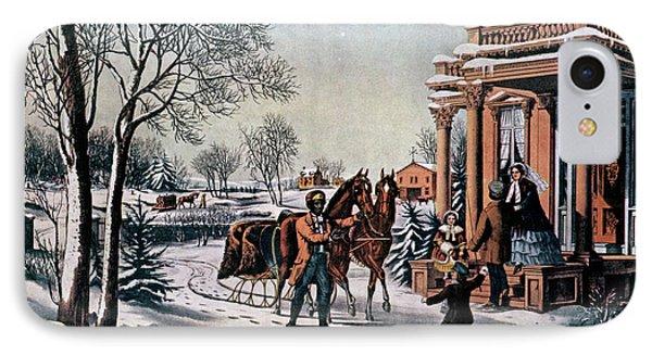 1850s American Country Life - Pleasures IPhone Case