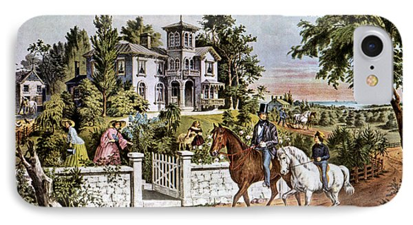 1850s American Country Life - IPhone Case
