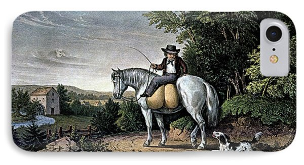1850s Going To The Mill - Currier & IPhone Case