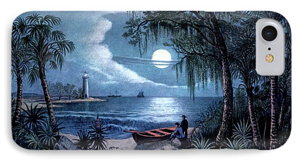 1850s The Florida Coast - Currier & IPhone Case