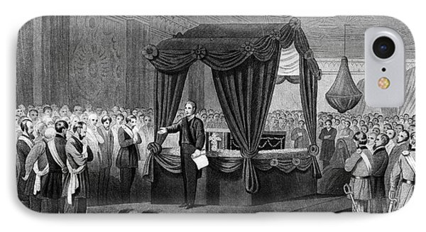 1860s April 1865 Funeral Rites IPhone Case