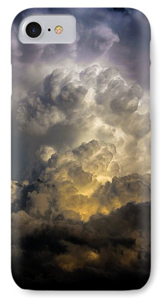 Nebraskasc iPhone 8 Case - Late Afternoon Nebraska Thunderstorms by NebraskaSC