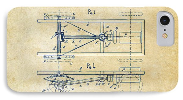 1903 Henry Ford Model T Patent Vintage IPhone Case