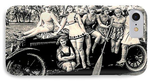 1919 Bathing Beauties IPhone Case
