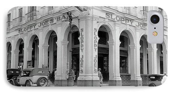 1930s Outside Facade Of Sloppy Joes Bar IPhone Case