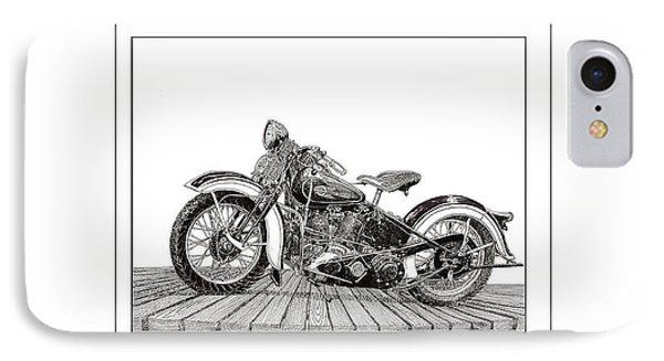 1936 Harley Knucklehead IPhone Case