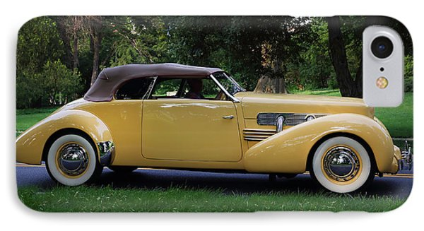 1937 Cord Convertible IPhone Case