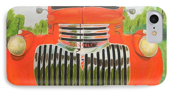 1946 Red Chevy Truck IPhone Case