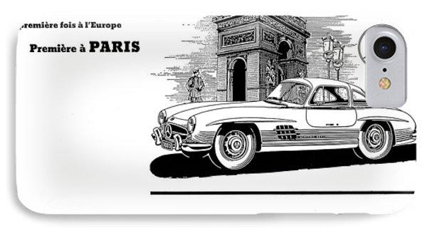 1954 Mercedes Benz IPhone Case