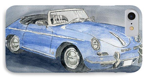 1956 Porche 356b Roadster IPhone Case