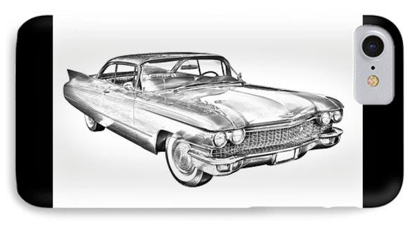 Car Sketch Iphone 8 Cases Fine Art America