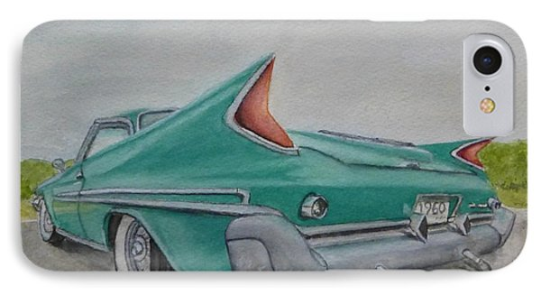 1960 Classic Saratoga Chrysler IPhone Case