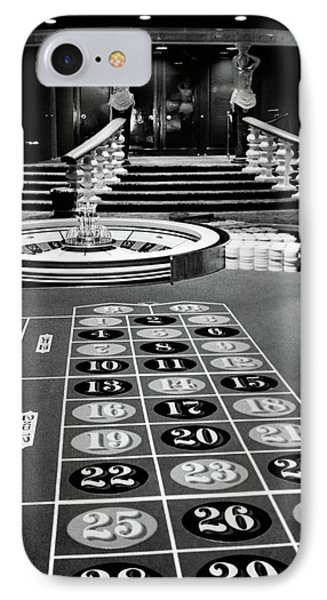1960s Casino Viewed From End IPhone Case