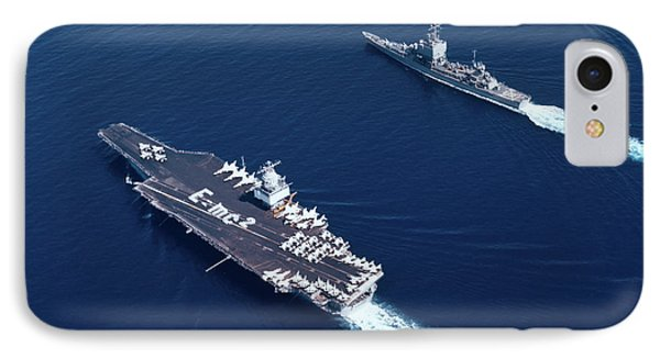 1960s Three Naval Ships On Parallel IPhone Case