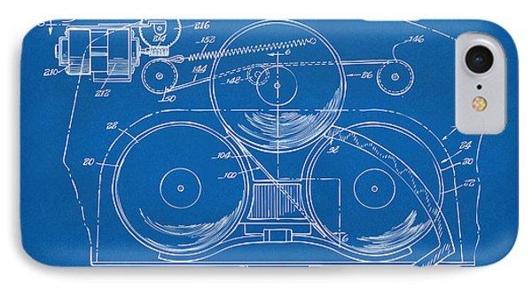 1963 Automatic Phonograph Jukebox Patent Artwork Blueprint IPhone Case