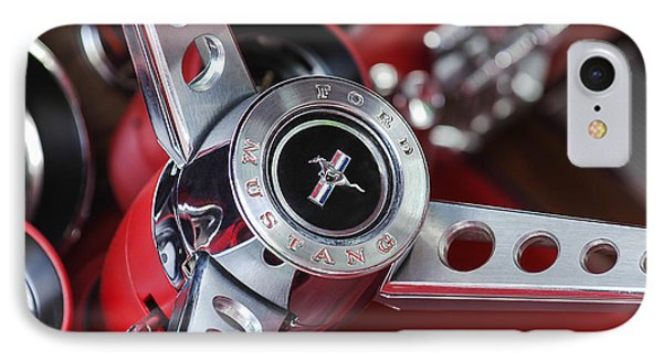 1969 Ford Mustang Mach 1 Steering Wheel IPhone Case