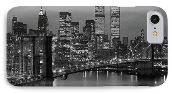 1980s New York City Lower Manhattan IPhone Case