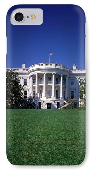 1980s The White House Washington Dc Usa IPhone Case