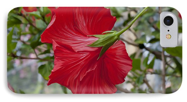 Abstract Hibiscus IPhone Case