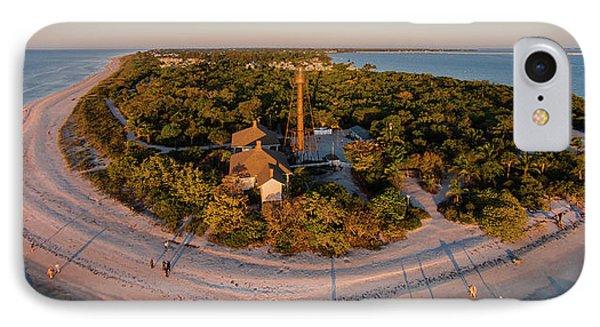 Aerial View Of Sanibel Island IPhone Case