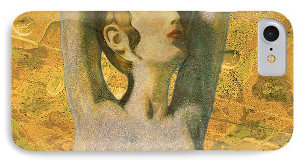 Aphrodite And Cyprus Map IPhone Case